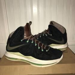 Nike lebron 10 ext qs - black ...