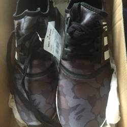 Bape x adidas nmd black dswt uk 9