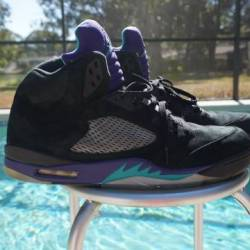 Air jordan 5 - black grape