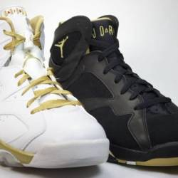 Air jordan 6/7 golden moments ...