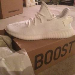 Yeezy boost 350 cream white br...