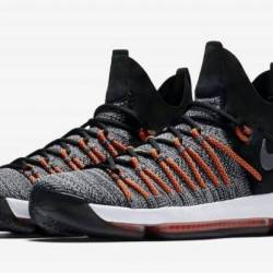 Nike kd 9 elite black white-da...