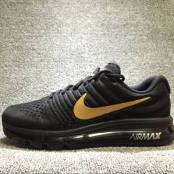 Nike air max 2017 black with g...