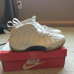 Nike air foamposite one - whit...