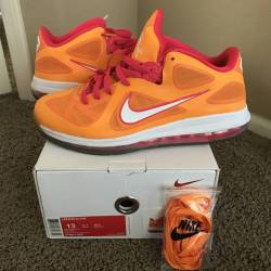 Nike lebron 9 ix low floridian...