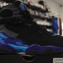 Jordan 8 aqua size 9 pre owned