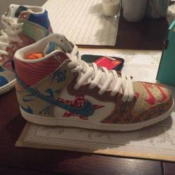 Thomas campbell x nike sb dunk...
