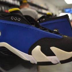 Jordan 14 laney size 8 and 13 ...