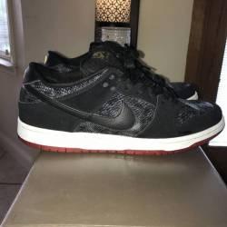 Nike sb dunk snake eyes size 10.5