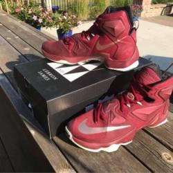 Nike lebron 13 team red
