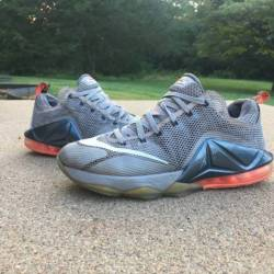 "2015 nike lebron 12 low ""hot l..."