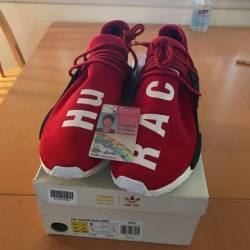 Human race red size 11.5