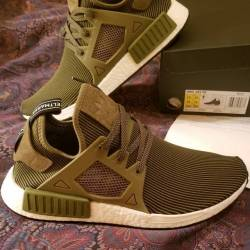 Women MMJ Adidas NMD XR1 PK Red BB3687