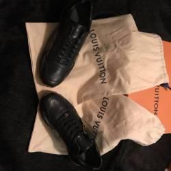 Supremexlouisvuitton shoes(black)
