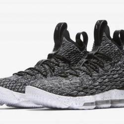 Nike lebron 15 ashes color bla...