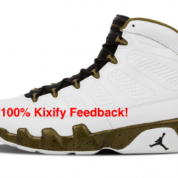 Air jordan 9 the spirit bronze...