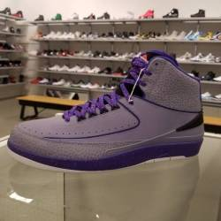 Air jordan 2 retro iron purple