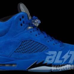 Air jordan 5 retro og blue sue...
