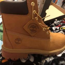 6inch premium wheat timberlands