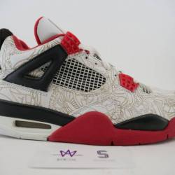 Air jordan 4 retro laser sz 9....