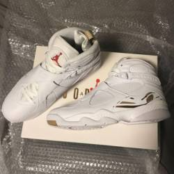 Ovo air jordan retro 8- white