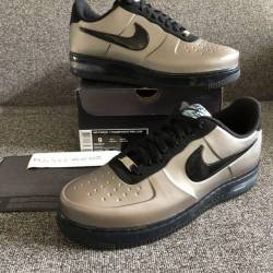 New nike air force one foampos...