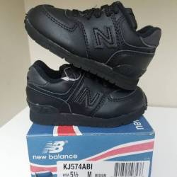 New balance black toddler size...