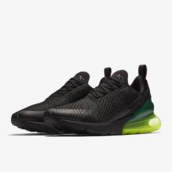 Nike air max 270 black volt w ...