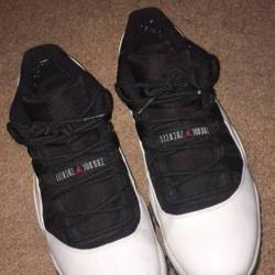 Air jordan 11 low - white  bla...