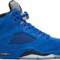 Nike air jordan v retro 5 blue...