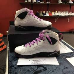 Air jordan 7 retro gg white/fu...