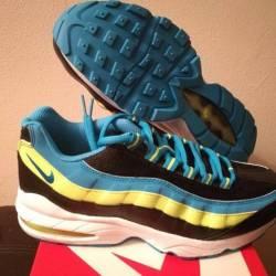 Nike air max 95 (gs) black blu...