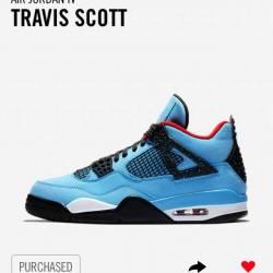 Travis scott x air jordan 4 ca...