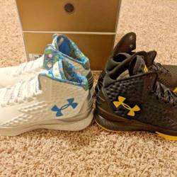 Under armour curry one 1 champ...