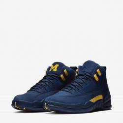 Air jordan 12 retro michigan (...