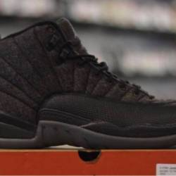 Jordan 12 wool pre owned men's