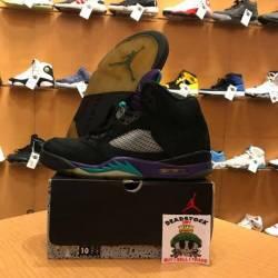 Air jordan 5 - black grape siz...