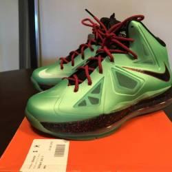 Nike lebron x - cutting jade