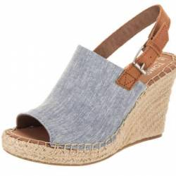 Toms women's monica blue chamb...