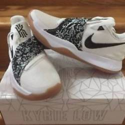 Nike kyrie 4 low white black g...