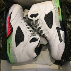 Air jordan 5 retro poison gree...