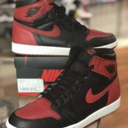 Nike air jordan 1 bred banned ...