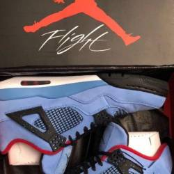 Travis scott x air jordan retro 4