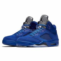 Air jordan 5 retro royal blue ...