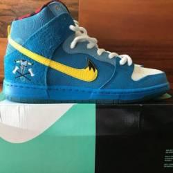 Nike dunk sb high blue ox qs