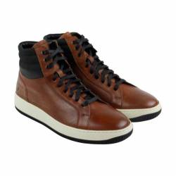 Frye wythe high mens brown lea...