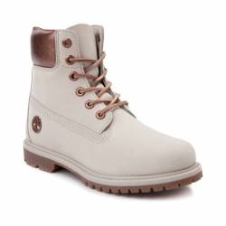"New womens timberland 6"" metal..."