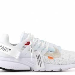 Nike air presto off-white whit...