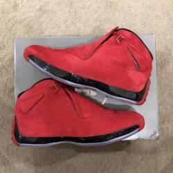 Nike air jordan xviii 18 red s...
