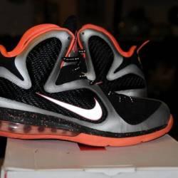 Nike air lebron 9 ix mango ora...